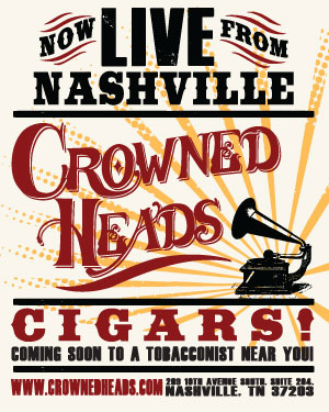 Crowned Heads 'Nashville' Poster